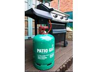 Patio gas bottle full for bbq or patio heater etc