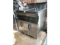 Double Tank Gas Fryer 18ltr