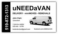 BEST IN CITY DELIVERY AND MOVING RATES...519-872-1313