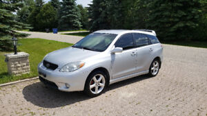 2007 TOYOTA MATRIX TRD, REMOTE START, LOW KMS 116km, NEW SAFETY!