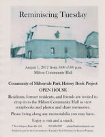 Reminiscing Tuesday - History Book Open House
