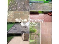 Driveway Cleaning Power Washing Decking Restoration,patios,paths,walls,forecourts,buildings etc