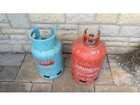2 Gas Bottles for sale