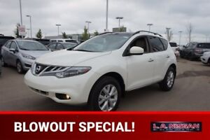 2012 Nissan Murano SL ALL WHEEL DRIVE Accident Free,  Leather,