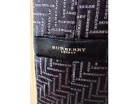 BEAUTIFUL BURBERRY' TIE - 100% SILK