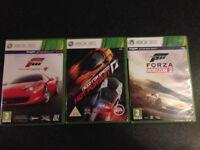 Xbox 360 games x 3