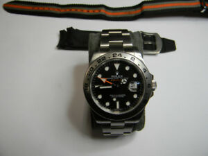 "SOLD!Rolex Explorer II 2011 ""G"" serial  Black face $7000SOLD!"