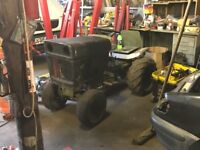 Bolens 1050 ride on lawn mower