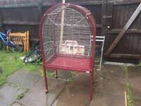 Parrot bird cage good condition