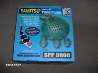 KOCKNEY KOI YAMITSU DIRTY WATER PUMP SPP 9000 - NEW AND UNUSED