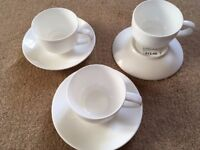 John Lewis 3 piece ESSPRESSO COFFEE SET
