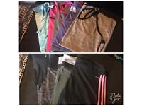 Fitness clothes size 12-14
