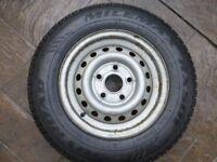 Caravan spare wheel 165r 13c