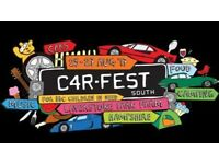 Carfest South Tickets x 2 Saturday 27th Aug