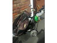 POWAKADDY Electric Trolley & Bag