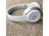 Beats By Dre Solo 2 White - Like New