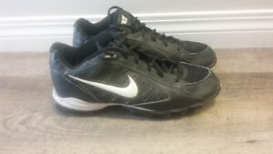 Football and Nike Cleats