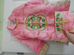 Brand new with tag 2 pieces Chinese costume girl age 5-9