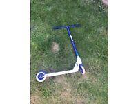 Blue kids stunt scooter for sale £10