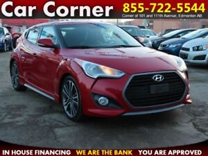 2013 Hyundai Veloster TURBO/HEATED LEATHER/TOUCHSCREEN/XM/MORE!