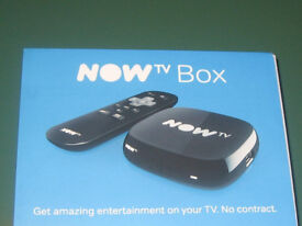 BRAND NEW NOWTV BOX - UNWRAPPED