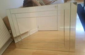 Beautiful Large Double Bevelled Mirror