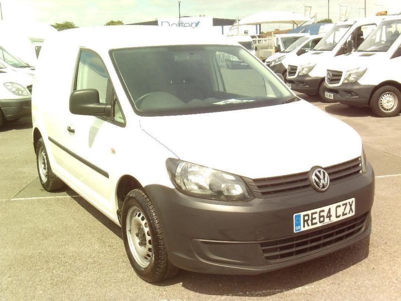 Volkswagen Caddy C20 1.6TDI 75PS STARTLINE VAN DIESEL MANUAL WHITE (2014)