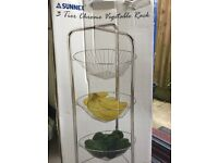 Brand new 3 tier vegetable basket.