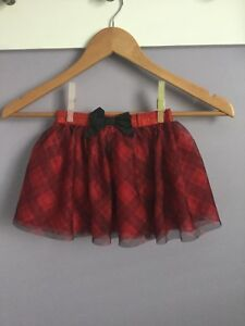 Christmas Skirt Size 4T paid $30 worn once selling for $10