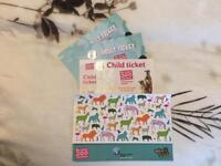 Bristol Zoo Tickets 2 x Adults and 1 x Child