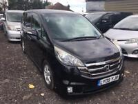 HONDA STEPWAGON/STREAM/ELYSION 2.4 PETROL AUTO 2009 (BIMTA CERTIFIED MILEAGE)