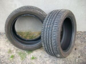 225 50 R17 Firestone FR710 all season tire PAIR of these