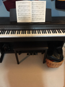Like New Casio AP 45 Digital Piano with Bench
