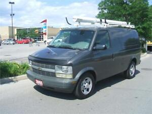 2005 Chevrolet Astro Cargo ONLY 140,000 KMS / LADDER RACK