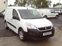 Peugeot Partner 850 1.6HDI 92ps Professional DIESEL MANUAL WHITE (2016)