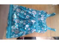 Mantray green floral dress size 16