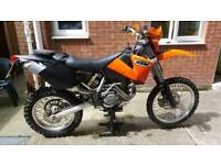 KTM EXC 250 Enduro Road legal
