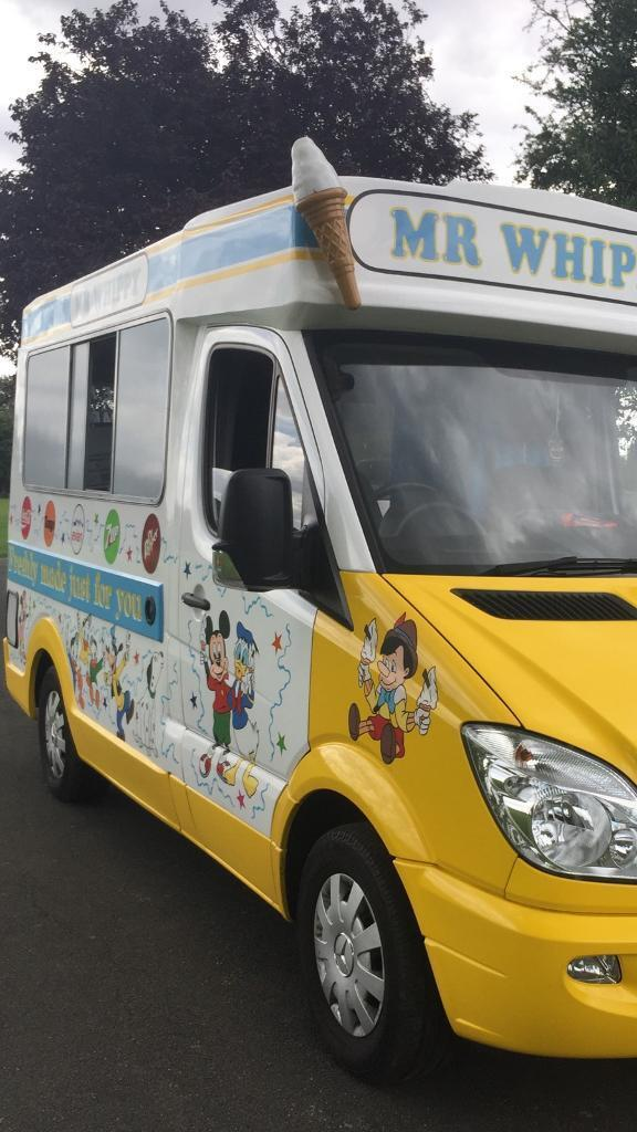 2014 Mercedes Sprinter Original Whitby Morrison Ice Cream