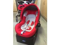 Chicco pushchair and car seat