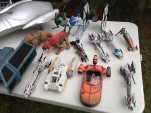 FS: Large lot Star Wars ships/vehicles, Fighters, speeders etc.