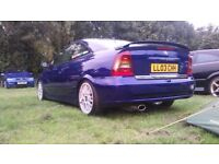 Vauxhall astra coupe, edition 100