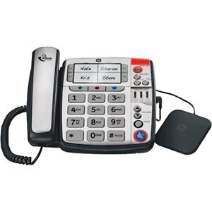 Extra loud phone with big buttons and vibrator