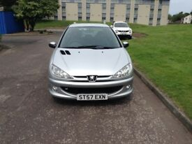 PEUGEOT 206 LOOK THREE DOOR HATCHBACK