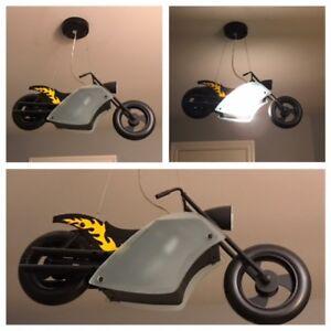Motocycle Light Fixture