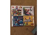 Various Nintendo Ds 3ds games