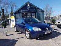 Volkswagen Golf 2.0 GT FSI 4MOTION (blue) 2005