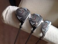 For sale used Ping G20 3 wood,5wood and hybrid