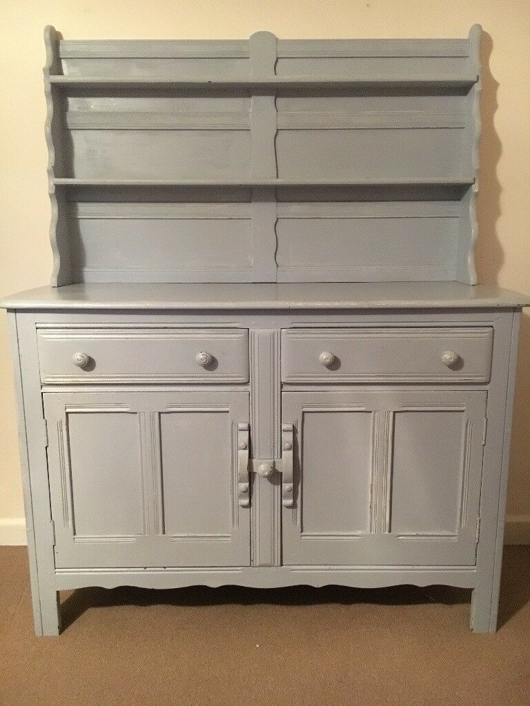 Wooden dresser, shabby chic projectin Swaffham, NorfolkGumtree - Wooden dresser that comes in 2 pieces. Previously painted, great as a shabby chic project, Height 150cm, Width 120cm, Depth 45cm