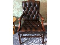 Vintage Chesterfield Desk Chair
