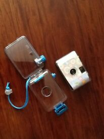 Barbie camera with underwater case for sale